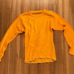 URBAN OUTFITTERS ORANGE LONG SLEEVE