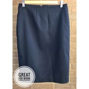 Merona Navy Pencil Skirt