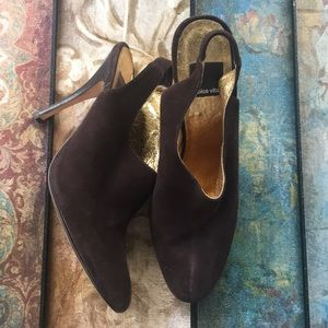 "Dolce Vita ""York-7"" mahogany suede pump size 10"