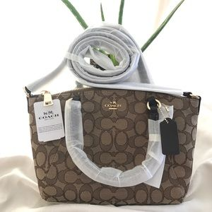 New Coach Mini-Satchel