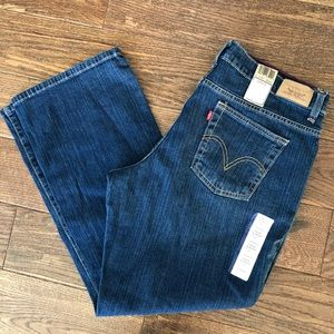 🆕 NWT Levi's relaxed boot Cut 550 16 Shirt Jeans