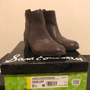 NEW with box• Sam Edelman James Ankle Boots