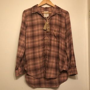 NWT American Eagle Flannel Size Large