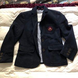 Abercrombie preppy student cropped blazer jacket