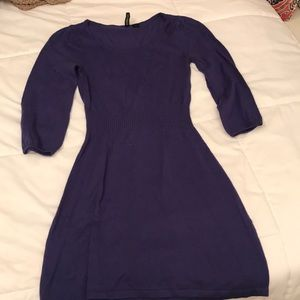 H&M Purple Sweater Dress