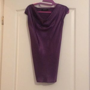 Purple Jones silk blouse