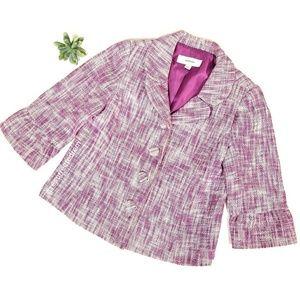 MERONA Tweed Blazer Size M