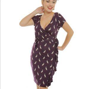 Lindy Bop puffin dress