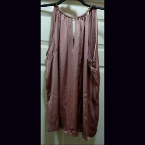 NWT Sexy Charlotte Russe Silky Sleeveless Top 1X