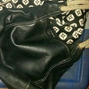 Cute rope strap handbag
