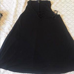 Black Maxi Dress . Forver21
