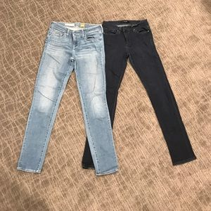 Two Pair Bundle! Joe's & Pilcro size 28