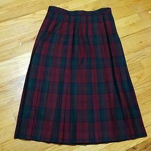 TALBOTS PETITES Wool Skirt