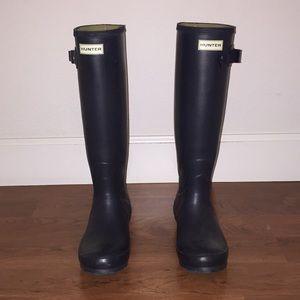 Hunter Rainboots 'Original Tall', w/ Hunter socks