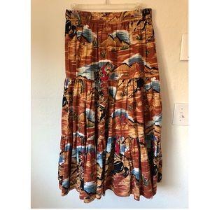 Vintage Cowboy Skirt