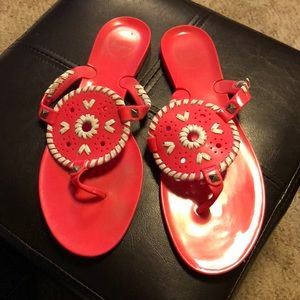 Jack Rogers jelly shoes size 9