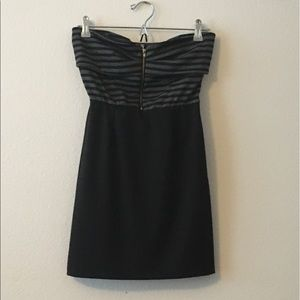 Club dress with front zipper
