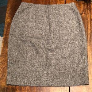 Ann Taylor Sweater Mini Pencil Skirt 00P
