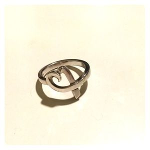Tiffany & Co. stealing silver heart ring