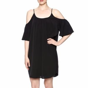 French Connection Polly cold shoulder dress