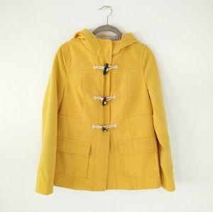 Old Navy Yellow Toggle/Duffel Coat