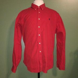 Men's Long sleeve Ralph Lauren button up
