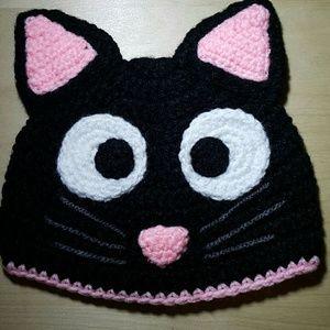 Other - Cat Hat Toddler Crochet Hat