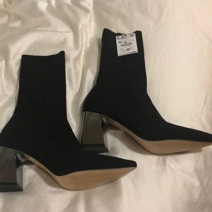 Zara sock Booties size 38