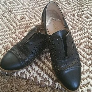 Sam & Libby black oxford- size 8