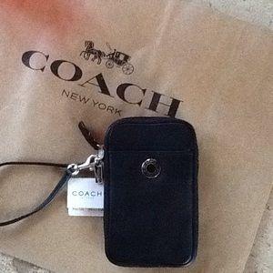 Coach Phone Case Wristlets