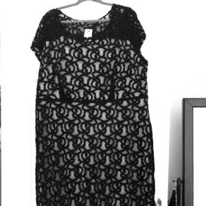 Plus size after five dress