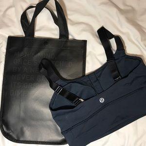 "Lululemon ""Both Ways Bra"" + Brand new LE bag‼️‼️"