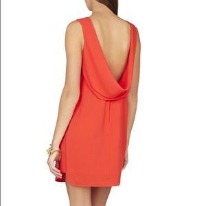 BCBG  size 6 red backless mini dress WORN 1x