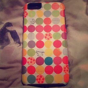 Multi color iPhone 6/7 plus case