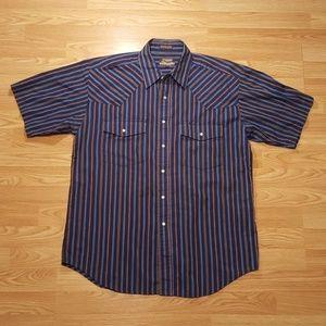 Vintage Men's Outlaw Western Button Down Shirt