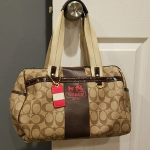 Coach Signature satchel Authentic