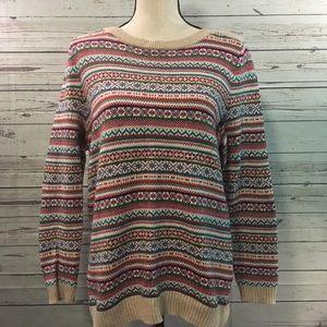 + Talbots Fair Isle Sweater