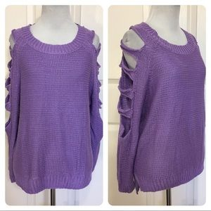 Pippa Lynn for LF purple sweater 0e07304b3