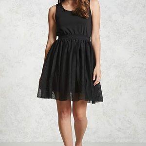 Forever 21 black ballerina dress