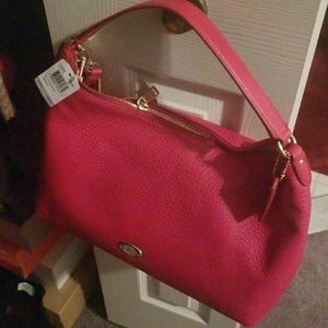Red Coach Purse NWT