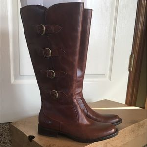 NEW BORN LEATHER BOOTS