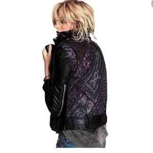 Muubaa Aztec FreePeople Cabela Leather Jacket