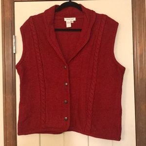 Coldwater Creek Wool Vest