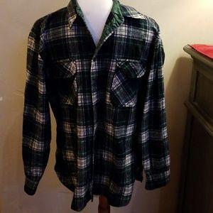 Green Plaid Pendleton Shirt