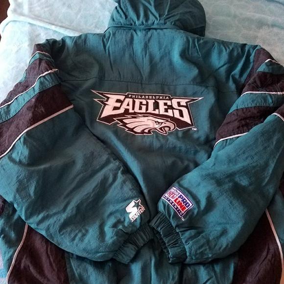 39d15825 Philadelphia Eagles STARTER jacket / parka