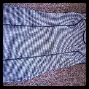 Size LG HOUNDSTOOTH DRESS