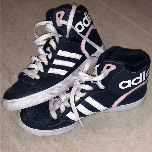 adidas scarpe alte e poshmark rosa marina
