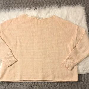 Madewell Crop Knit Sweater