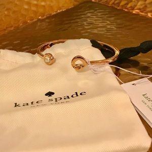 ♠️Kate Spade ♠️ Rose Gold cuff bracelet ✨