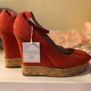 Zara Basic Collection Wedges